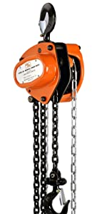 1//4 Ton Steel Chain hoist w// Automatic Breaks Load Lifting Lifter up to 500lbs