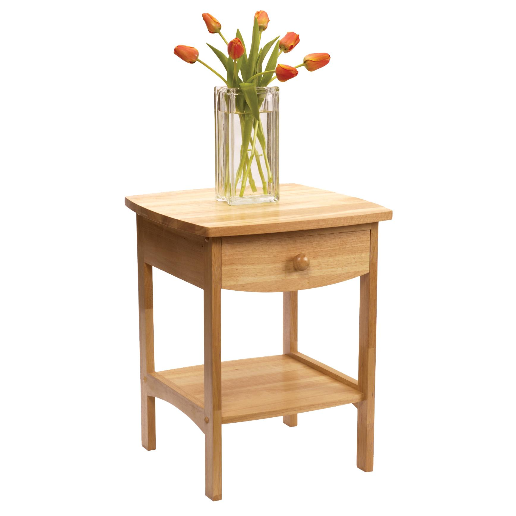 Amazon Com Winsome Wood End Table Night Stand With Drawer