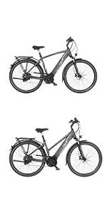 FISCHER Herren - Trekking E-Bike ETH 1820, Elektrofahrrad