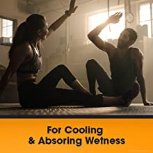 Helps absorb sweat that causes groin chafing, chafing while running, inner thigh chafing and more.