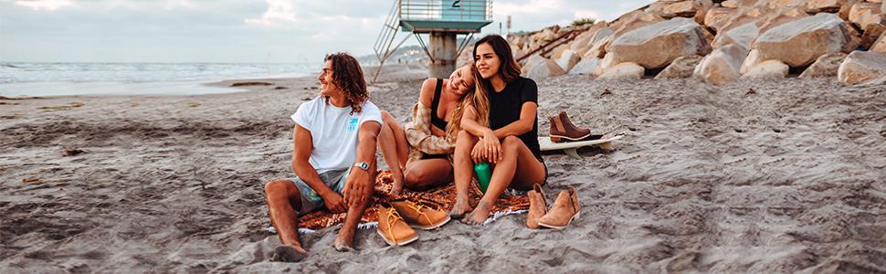 REEF Voyage Boot waterproof leather suede beach
