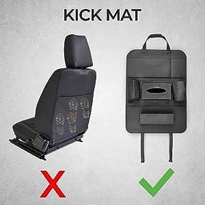 car auto seat back organizer organiser kids storage holder hanger mobile phone 6 7 pocket backseat