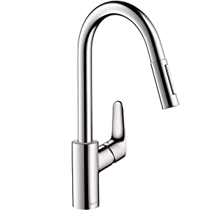 Hansgrohe 88624000 Pull-Down Kitchen Faucet Hose, Chrome