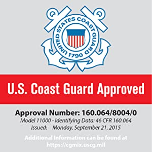 Coast Guard Approval Universal PFD