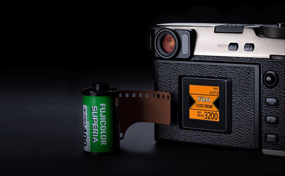 color;film simulation