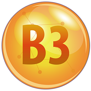 Vitamins B3 and E help strengthen skin structure
