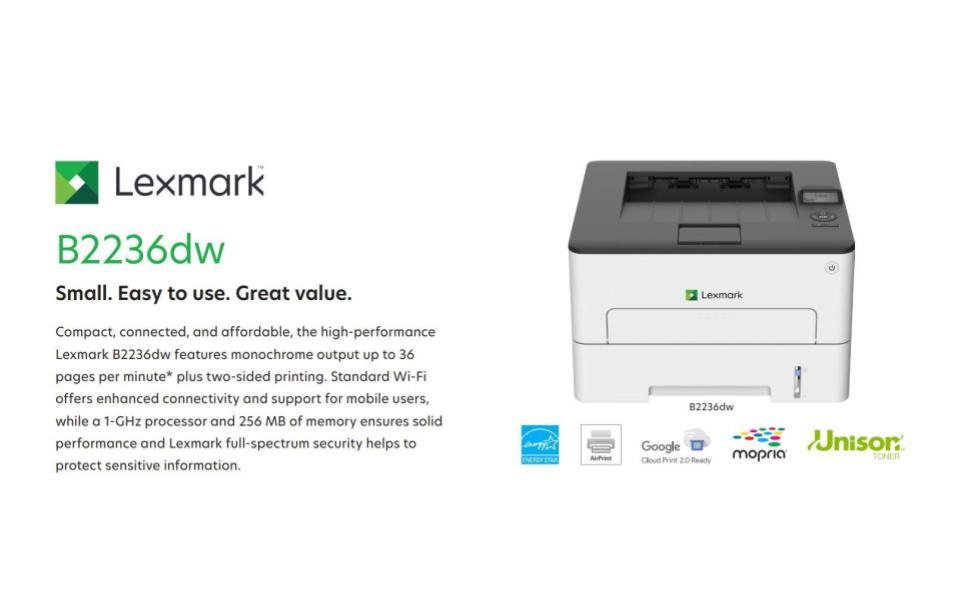 lexmark b2236dw office printer