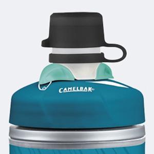 camelbak, mud cap, podium, water bottle, keeps dirt out