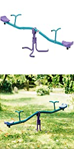 Plum Metal Rotating See Saw Outdoors Childrens Kids Garden Gift Christmas 3 Year