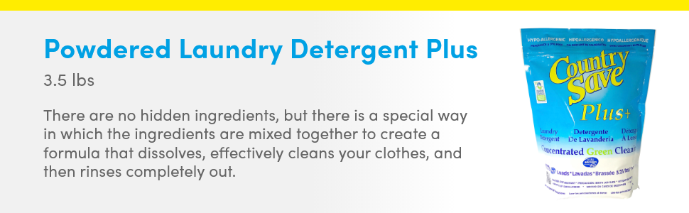 country save laundry detergent