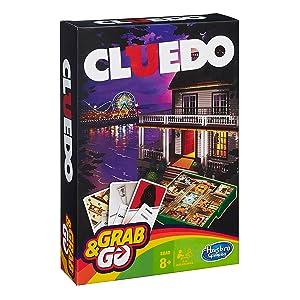 Hasbro Gaming Gaming Travel Cluedo Viaje (Versión Española ...
