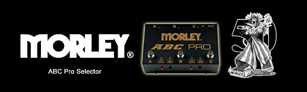 Morley ABC 3 Channel Selector//Combiner Pedal Switch Free Expedited Shipping!