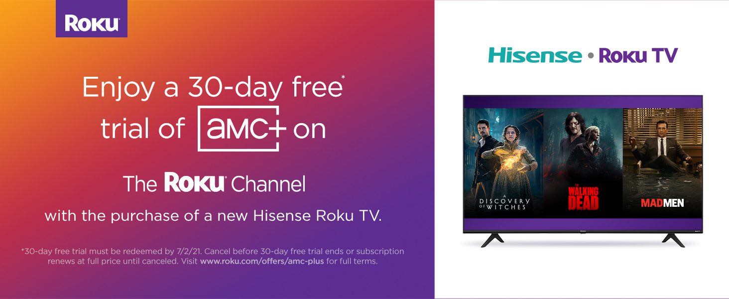 Hisense Roku TV Special Offer