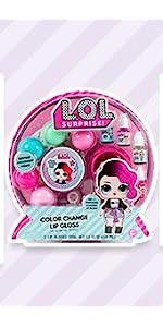 LOL Surprise Color Change Lip Gloss by Horizon Group USA