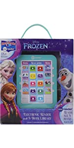 Frozen Me Reader Electronic Reader and 8-Sound Book Library