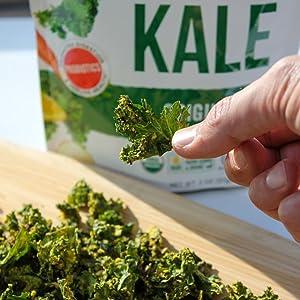 kale on cutting board