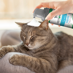 Amazoncom Vets Best No Rinse Waterless Dry Shampoo For Cats - 22 cats living better life right now