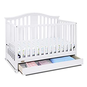 graco solano 4in1 convertible crib with drawer