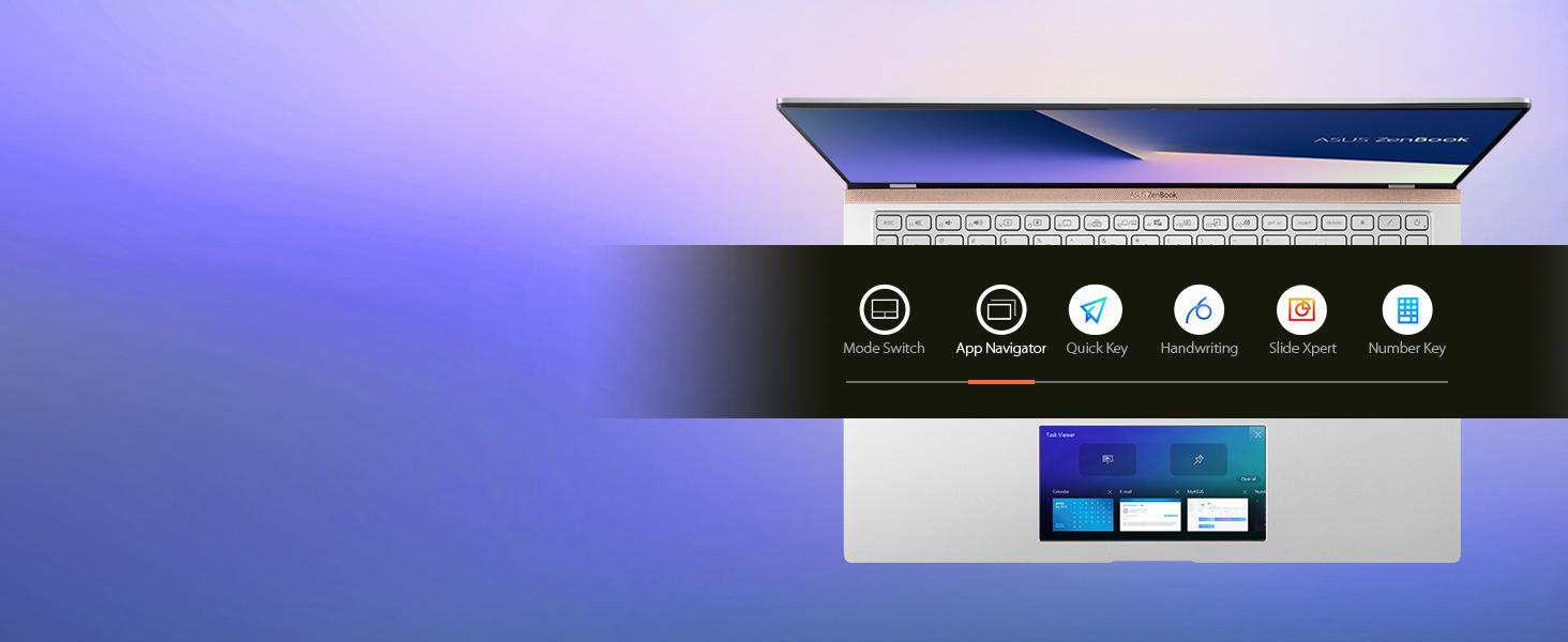 ScreenPad 2.0: App Navigator