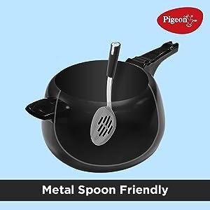 Metal spoon friendly