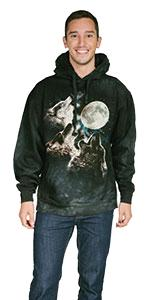 8fc3fee3 Three Wolf Moon in Blue · 3 Wolf Moon Long Sleeve · 3 Wolf Moon Coffee Mug  · 3 Wolf Moon Hoodie, 3 Wolf Moon Trucker Hat, Three Wolf Moon Tote