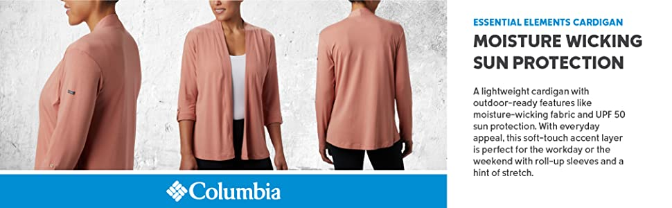 Columbia Women's Essential Elements Cardigan Sweater