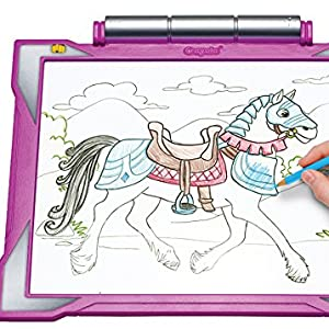 gift for girls, girls toy, toy for girls, tracing pad, crayola