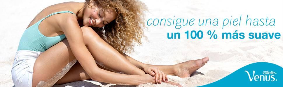 Venus ComfortGlide Spa Breeze Recambio de Maquinilla 2-en-1, 4 Uds ...