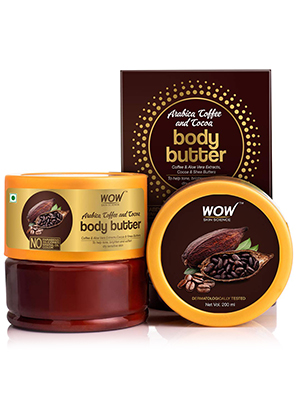 WOW SKIN SCIENCE ARABICA COFFEE AND COCOA BODY BUTTER