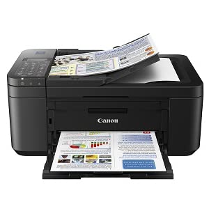 Cost efficient compact wireless all in one printer with fax and auto duplex printing
