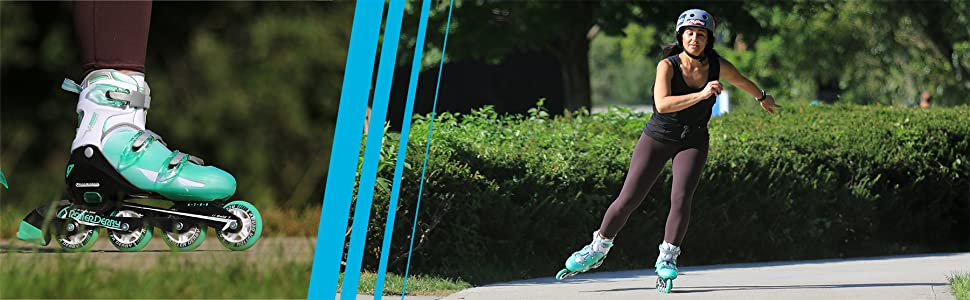 Vtech 500 women's adjustable inline skates