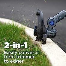 string trimmer westinghouse 20v 20v+ wheeled edger corless lawn garden lithium ion battery pack