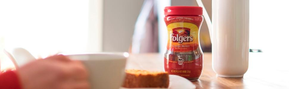 amazon com   folgers classic decaf instant coffee  12