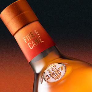 Glenfiddich Fire & Cane Bottle