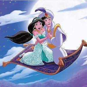 Disney Aladdin and Princess Jasmine