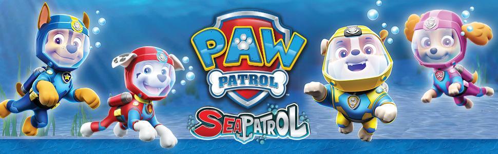Amazon Com Paw Patrol Sea Patrol Sea Patroller