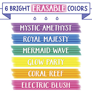 Take Note, Gel Pens, Highlighters, Erasable, Permanent Markers, Whiteboard, School, Color, study