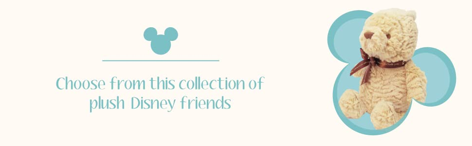 Choose from this collection of Plush Disney Friends