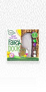 Creative Roots Paint Your Own Fairy Door