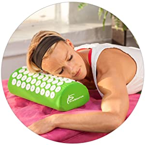 shakti Accupresure acupuncture mat, bed of nails