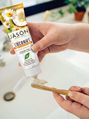 JASON Simply Coconut Soothing Toothpaste
