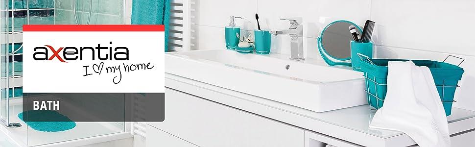 axentia Klopapierhalter Udana für Badezimmer und Gäste-WC