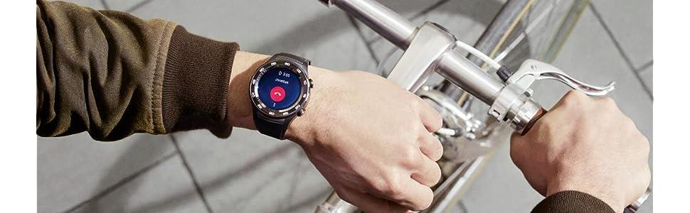 Huawei Watch 2 Sport Smartwatch - Ceramic Bezel - Carbon Black Strap (US Warranty)