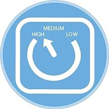 Ventilateur 3 vitesses