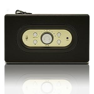 Roadstar Hra-310Bt – Radio Vintage con Altavoz Bluetooth y Aux-In ...