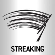 Streaking wiper blades