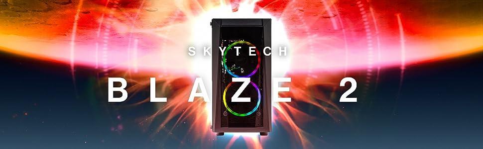 Skytech Blaze 2 Gaming PC Hero