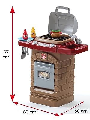 casa de campo, barbacoa para niños, casita niños, casita de juguete, colorbaby