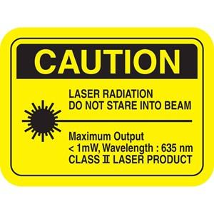 caution;laser;regulation;635nm;radiation;output