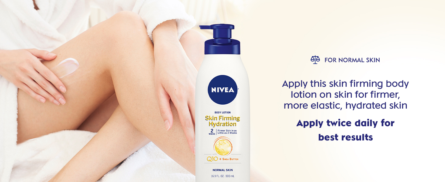 nivea skin firming hydrating lotion, dry skin lotion
